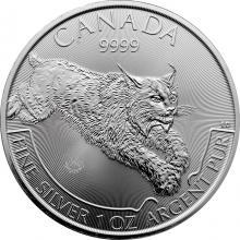 Stříbrná investiční mince Rys Predator 1 Oz 2017