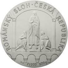 Platinová investiční medaile - Románský sloh 2017 Standard
