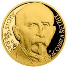 Zlatý dukát Národní hrdinové - Alois Rašín 2017 Proof