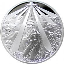 Stříbrná medaile Baltazar 2017 Proof