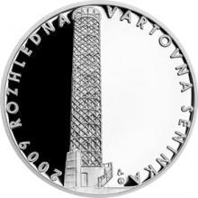 Stříbrná medaile Rozhledna Vartovna 2018 Proof