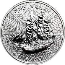 Stříbrná investiční mince Bounty Cook Islands 1 Oz