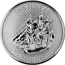 Stříbrná investiční mince Bounty Cook Islands 1 Oz 2017