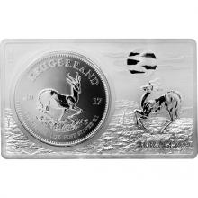 Stříbrná mince Krugerrand 50. výročí Exkluzivní edice 2017 Proof