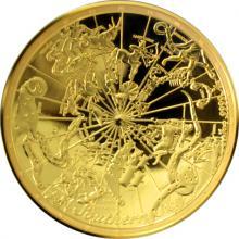 Zlatá mince Celestial Dome - Southern Sky 1 Oz 2017 Proof