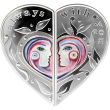 Strieborné mince Always with You 2017 Proof