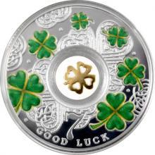 Stříbrná mince Lucky Seven - Čtyřlístek 2016 Proof