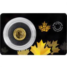 Zlatá investiční mince Growling Cougar 1/10 Oz 2016 (.99999)