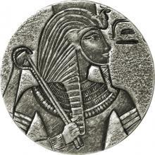 Stříbrná investiční mince King Tut 5 Oz 2016