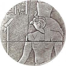 Stříbrná investiční mince Horus 2 Oz 2016