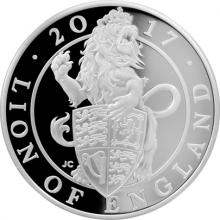 Stříbrná mince Lion of England 1 Oz 2017 Proof