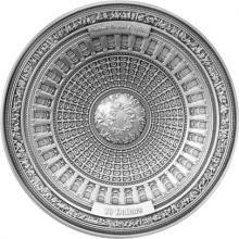 Stříbrná mince United States Capitol 2017 Antique Standard