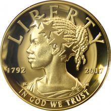 Zlatá mince American Liberty 1 Oz 2017 High Relief Proof