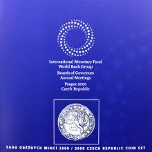 Sada oběžných mincí ČR 2000 – MMF Standard