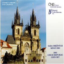Sada oběžných mincí ČR - Týnský chrám 2001 Standard