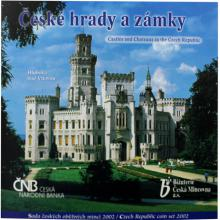 Sada oběžných mincí ČR - České hrady a zámky 2002 Standard
