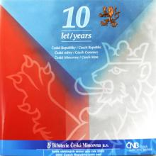 Sada oběžných mincí ČR - 10 let ČR 2003 Standard