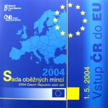 Sada oběžných mincí ČR - Vstup ČR do EU 2004 Standard