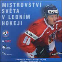 Sada oběžných mincí ČR - MS v ledním hokeji 2004 Standard