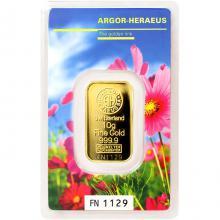 10g Argor Heraeus Following Nature - Jaro 2017 investiční zlatý slitek