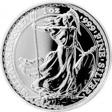 Stříbrná mince 1 Oz Britannia 2017 Proof