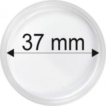 Plastové kapsule na mince o priemere 37 mm - 10 ks