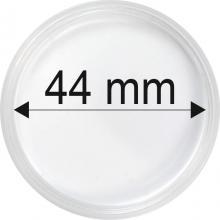 Plastové kapsule na mince o priemere 44 mm - 10 ks