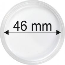Plastové kapsle na mince o průměru 46 mm - 10 ks