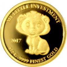 Zlatá mince My little investment - Lev 2017 Proof