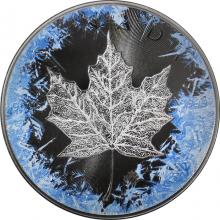 Stříbrná mince Maple Leaf 1 Oz Deep Frozen Edition 2017 Proof