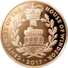 Zlatá mince House of Windsor 2017 Proof