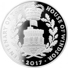 Stříbrná mince House of Windsor 2017 Proof