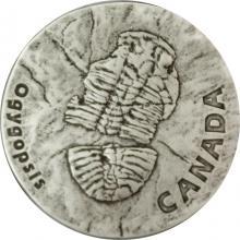 Stříbrná mince Ogygopsis 1 Oz 2017 Antique Standard