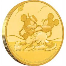 Zlatá mince Mickey Mouse - The Gallopin´ Gaucho 2017 Proof