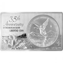 Stříbrná mince Mexiko Libertad 35. výročí Exkluzivní edice 2017 Proof