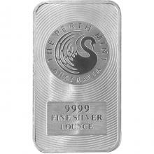 31,1g Perth Mint Investičná strieborná tehlička