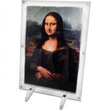 Leonardo da Vinci Mona Lisa Exkluzivní stříbrná mince Velikáni umění 2017 Standard