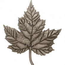 Stříbrná mince 1 Kg Maple Leaf Forever 2017 Antique Standard