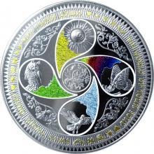 Stříbrná mince The World of your Soul 2017 Proof