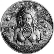 Strieborná medaila Autorské razby - Roman Lugár 2017 Štandard