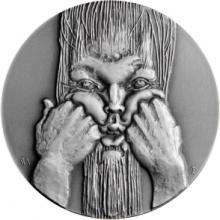 Stříbrná medaile Autorské ražby - Martin Sabol 2017 Standard