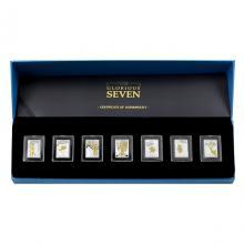 Sada stříbrných mincí The Glorious Seven 2017 Proof