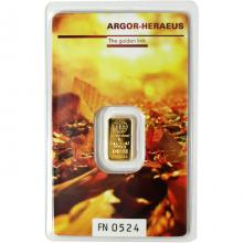 1g Argor Heraeus Following Nature - Podzim 2017 investiční zlatý slitek