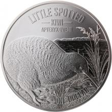 Stříbrná mince Little Spotted Kiwi 1 Oz 2018 Proof
