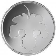 Strieborná minca Adam a Eva 2 NIS Izrael Biblické umenie 2017 Proof