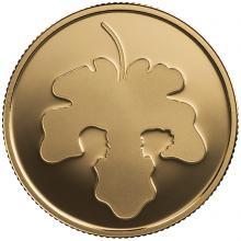 Zlatá minca Adam a Eva 10 NIS Izrael Biblické umenie 2017 Proof