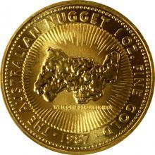 Zlatá investiční mince The Australian Nugget 1 Oz 1987