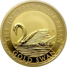 Zlatá investiční mince Australian Swan 1 Oz 2017