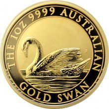 Zlatá investičná minca Australian Swan 1 Oz 2017