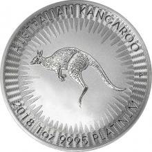 Platinová investiční mince Kangaroo Klokan 1 Oz 2018